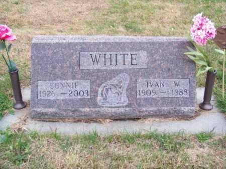 WHITE, CONNIE - Brown County, Nebraska | CONNIE WHITE - Nebraska Gravestone Photos