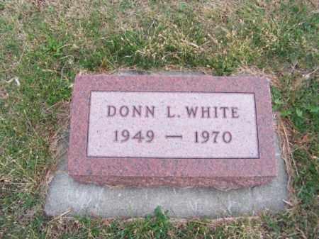 WHITE, DONN L. - Brown County, Nebraska | DONN L. WHITE - Nebraska Gravestone Photos