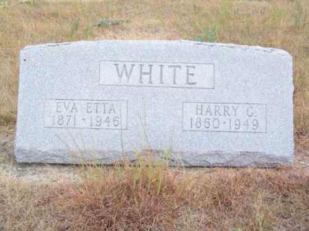 WHITE, EVA ETTA - Brown County, Nebraska   EVA ETTA WHITE - Nebraska Gravestone Photos