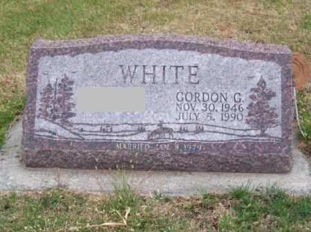 WHITE, GORDON G. - Brown County, Nebraska | GORDON G. WHITE - Nebraska Gravestone Photos