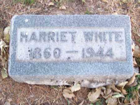 WHITE, HARRIET - Brown County, Nebraska | HARRIET WHITE - Nebraska Gravestone Photos