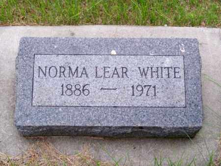 WHITE, NORMA - Brown County, Nebraska | NORMA WHITE - Nebraska Gravestone Photos