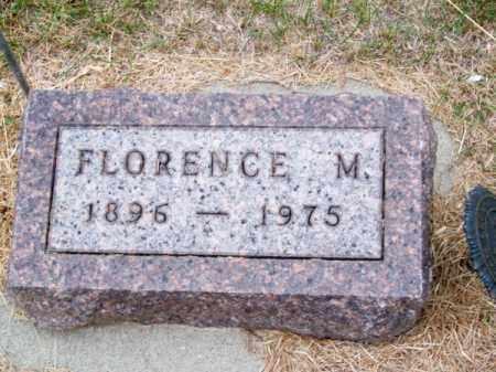 WILCOX, FLORENCE M. - Brown County, Nebraska | FLORENCE M. WILCOX - Nebraska Gravestone Photos