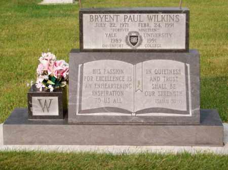 WILKINS, BRYENT PAUL - Brown County, Nebraska | BRYENT PAUL WILKINS - Nebraska Gravestone Photos
