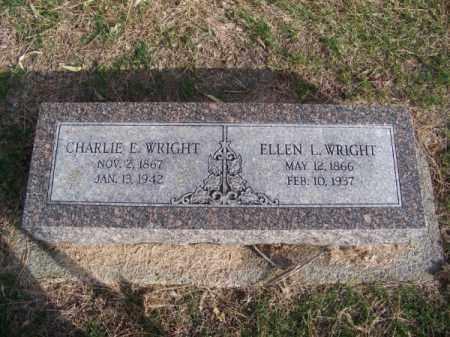 WRIGHT, CHARLIE E. - Brown County, Nebraska | CHARLIE E. WRIGHT - Nebraska Gravestone Photos