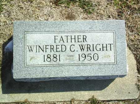 WRIGHT, WINFRED - Brown County, Nebraska   WINFRED WRIGHT - Nebraska Gravestone Photos