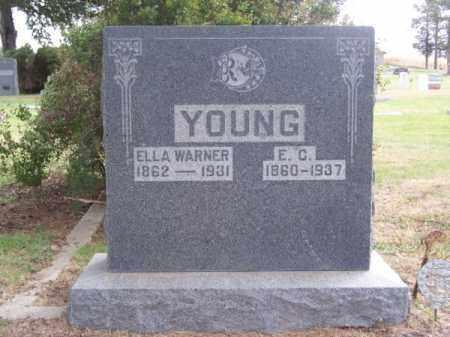 YOUNG, E. C. - Brown County, Nebraska | E. C. YOUNG - Nebraska Gravestone Photos