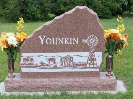 YOUNKIN, FAMILY - Brown County, Nebraska | FAMILY YOUNKIN - Nebraska Gravestone Photos