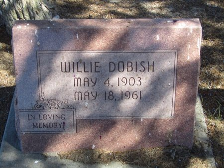 DOBISH, WILLIE - Buffalo County, Nebraska | WILLIE DOBISH - Nebraska Gravestone Photos