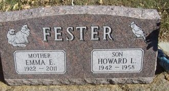 FESTER, HOWARD L. - Buffalo County, Nebraska | HOWARD L. FESTER - Nebraska Gravestone Photos