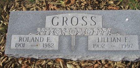 GROSS, ROLAND E. - Buffalo County, Nebraska   ROLAND E. GROSS - Nebraska Gravestone Photos
