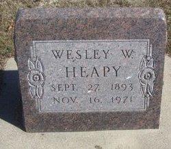 HEAPY, WESLEY W. - Buffalo County, Nebraska | WESLEY W. HEAPY - Nebraska Gravestone Photos
