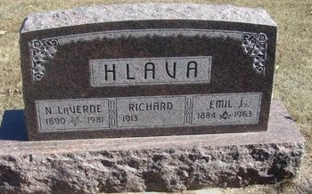 HLAVA, RICHARD - Buffalo County, Nebraska | RICHARD HLAVA - Nebraska Gravestone Photos
