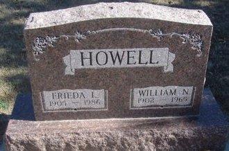 HOWELL, FRIEDA L. - Buffalo County, Nebraska | FRIEDA L. HOWELL - Nebraska Gravestone Photos