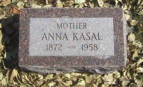 KASAL, ANNA - Buffalo County, Nebraska | ANNA KASAL - Nebraska Gravestone Photos