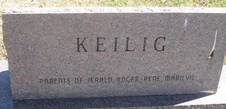KEILIG, ERMA - Buffalo County, Nebraska | ERMA KEILIG - Nebraska Gravestone Photos