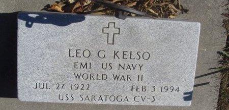 KELSO, LEO G. - Buffalo County, Nebraska | LEO G. KELSO - Nebraska Gravestone Photos