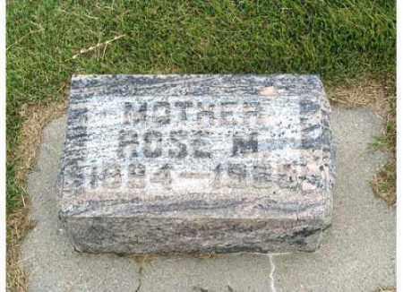 URWILLER KNERL, ROSE M - Buffalo County, Nebraska | ROSE M URWILLER KNERL - Nebraska Gravestone Photos