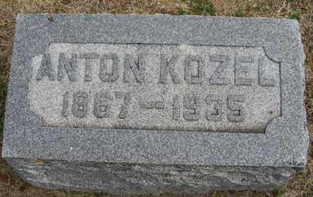 KOZEL, ANTON - Buffalo County, Nebraska | ANTON KOZEL - Nebraska Gravestone Photos