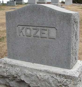 KOZEL, FAMILY - Buffalo County, Nebraska | FAMILY KOZEL - Nebraska Gravestone Photos