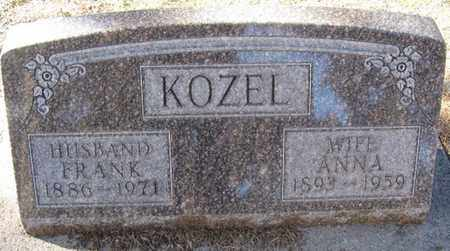 KOZEL, ANNA - Buffalo County, Nebraska | ANNA KOZEL - Nebraska Gravestone Photos