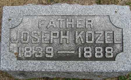 KOZEL, JOSEPH - Buffalo County, Nebraska | JOSEPH KOZEL - Nebraska Gravestone Photos