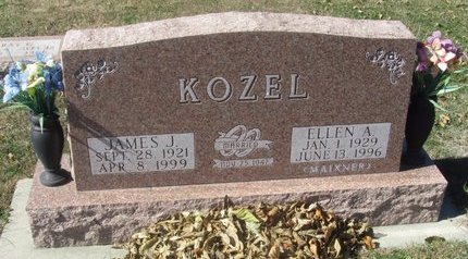 KOZEL, JAMES J. - Buffalo County, Nebraska | JAMES J. KOZEL - Nebraska Gravestone Photos