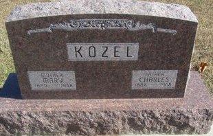 KOZEL, CHARLES - Buffalo County, Nebraska   CHARLES KOZEL - Nebraska Gravestone Photos