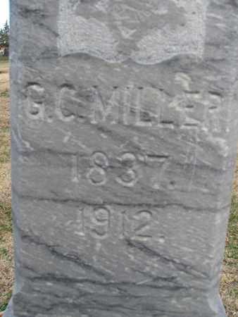 MILLER, G.C. - Buffalo County, Nebraska   G.C. MILLER - Nebraska Gravestone Photos