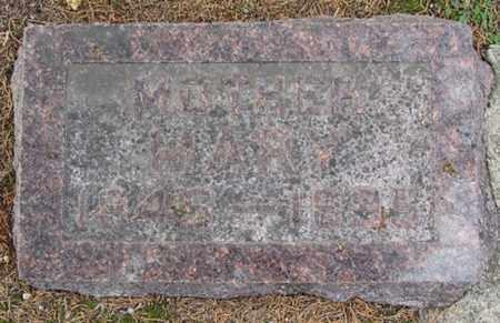 MILLER, MARY - Buffalo County, Nebraska | MARY MILLER - Nebraska Gravestone Photos