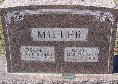 MILLER, NELLIE - Buffalo County, Nebraska   NELLIE MILLER - Nebraska Gravestone Photos