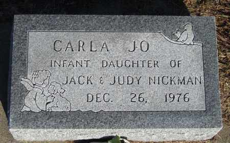 NICKMAN, CARLA JO - Buffalo County, Nebraska | CARLA JO NICKMAN - Nebraska Gravestone Photos