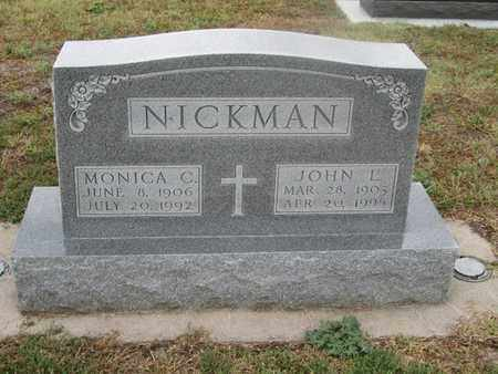 NICKMAN, MONICA - Buffalo County, Nebraska | MONICA NICKMAN - Nebraska Gravestone Photos
