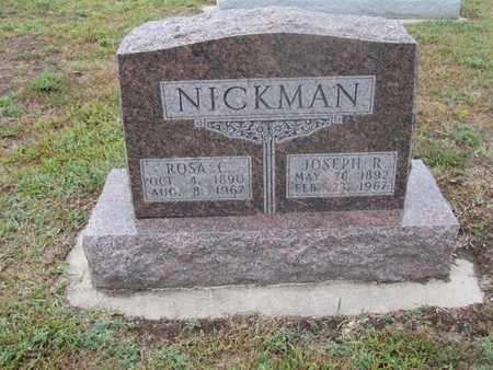 NICKMAN, JOSEPH - Buffalo County, Nebraska | JOSEPH NICKMAN - Nebraska Gravestone Photos