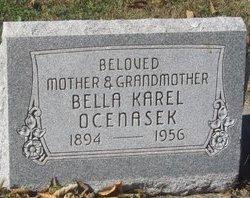 OCENASEK, BELLA KAREL - Buffalo County, Nebraska | BELLA KAREL OCENASEK - Nebraska Gravestone Photos