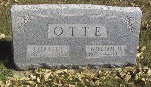 OTTE, WILLIAM H. - Buffalo County, Nebraska   WILLIAM H. OTTE - Nebraska Gravestone Photos