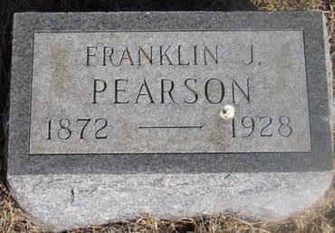 PEARSON, FRANKLIN J. - Buffalo County, Nebraska | FRANKLIN J. PEARSON - Nebraska Gravestone Photos