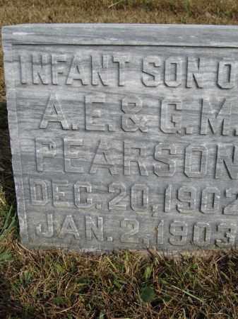 PEARSON, INFANT SON - Buffalo County, Nebraska | INFANT SON PEARSON - Nebraska Gravestone Photos