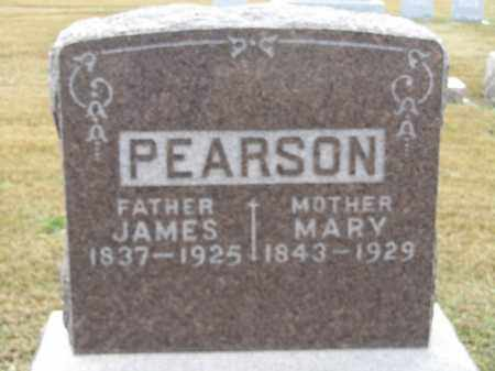 PEARSON, JAMES - Buffalo County, Nebraska | JAMES PEARSON - Nebraska Gravestone Photos