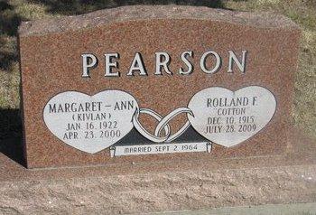 PEARSON, ROLLAND F. - Buffalo County, Nebraska | ROLLAND F. PEARSON - Nebraska Gravestone Photos