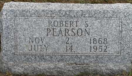PEARSON, ROBERT S. - Buffalo County, Nebraska | ROBERT S. PEARSON - Nebraska Gravestone Photos