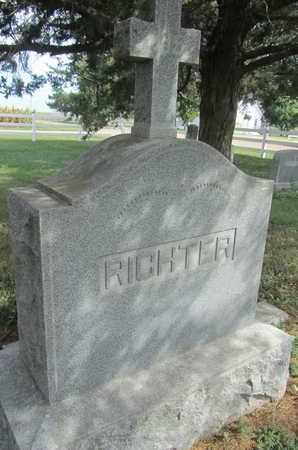 RICHTER, FAMILY - Buffalo County, Nebraska | FAMILY RICHTER - Nebraska Gravestone Photos