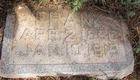 RICHTER, FRANK - Buffalo County, Nebraska | FRANK RICHTER - Nebraska Gravestone Photos