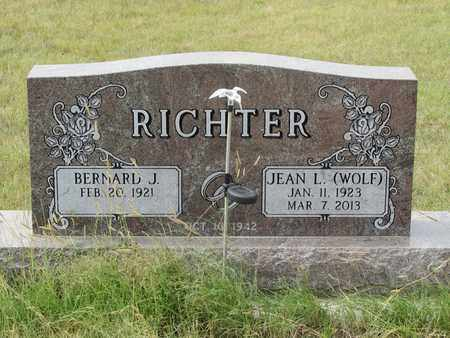 RICHTER, JEAN - Buffalo County, Nebraska | JEAN RICHTER - Nebraska Gravestone Photos
