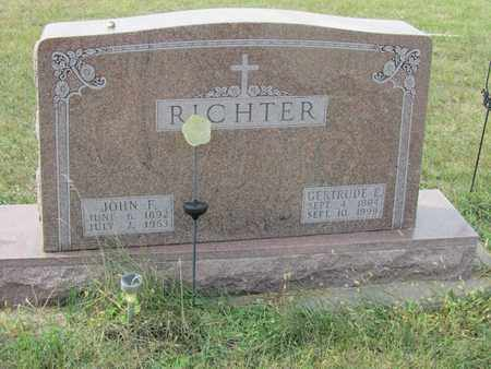 RICHTER, GERTRUDE - Buffalo County, Nebraska | GERTRUDE RICHTER - Nebraska Gravestone Photos