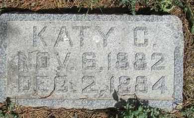 RICHTER, KATY - Buffalo County, Nebraska | KATY RICHTER - Nebraska Gravestone Photos