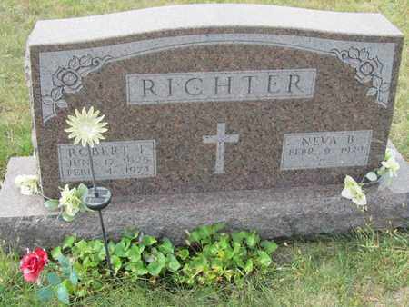RICHTER, NEVA - Buffalo County, Nebraska | NEVA RICHTER - Nebraska Gravestone Photos