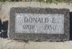 WAGNER, DONALD E. - Buffalo County, Nebraska | DONALD E. WAGNER - Nebraska Gravestone Photos
