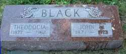 BLACK, JOHN W. - Burt County, Nebraska | JOHN W. BLACK - Nebraska Gravestone Photos