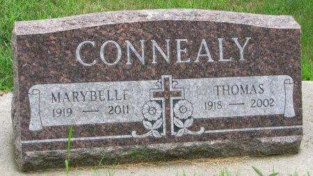 ROSCOE CONNEALY, MARYBELLE - Burt County, Nebraska | MARYBELLE ROSCOE CONNEALY - Nebraska Gravestone Photos